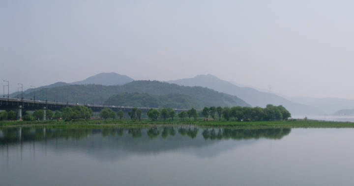 South Korea's Four Rivers Project in Paldang