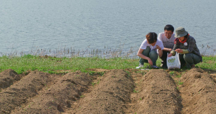 Korean Four Rivers Project gets Organic Education