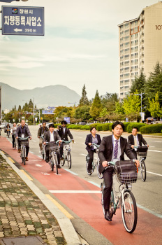 Nubija Bike System Tour, Changwon, South Korea (photo: Suhee Kang | sociecity)