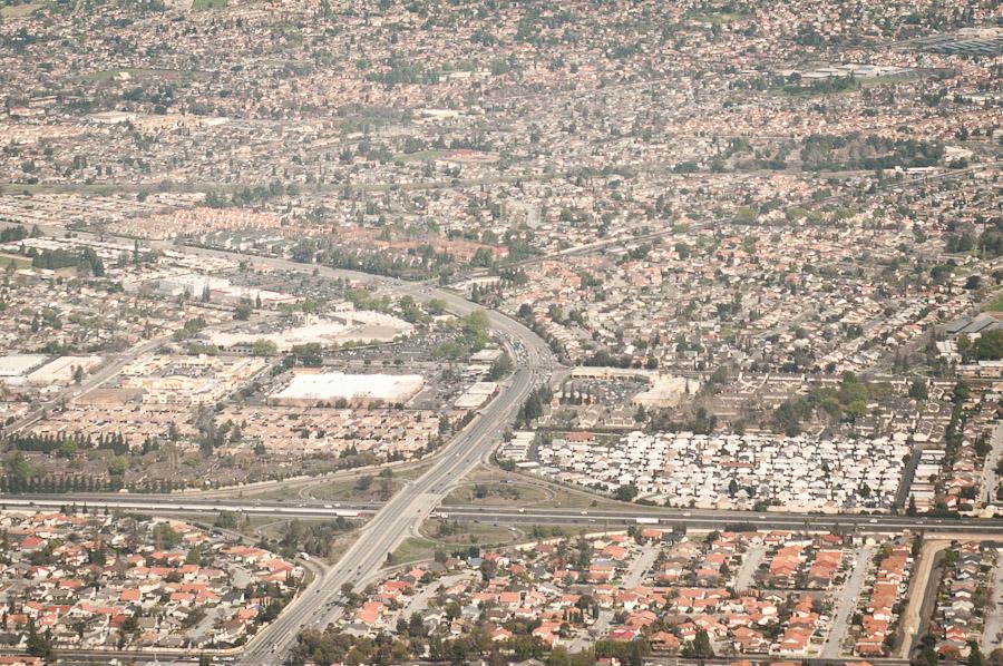 Arial View of suburban development in San Jose, California (photo: P.M. Lydon | sociecity)