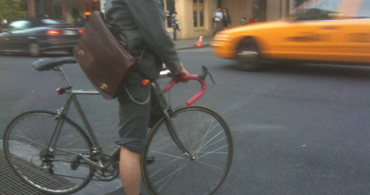Moving On Two Wheels in New York City