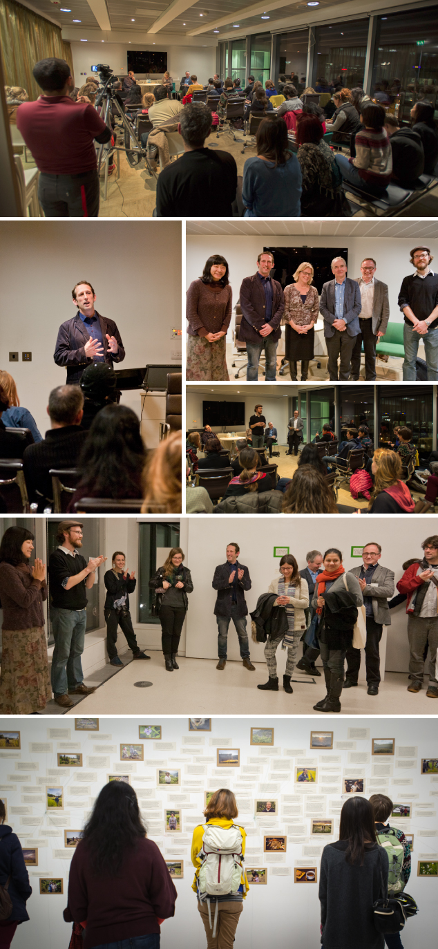 Images from our Food, Art, Sustainability panel discussion and exhibition in Edinburgh, Scotland