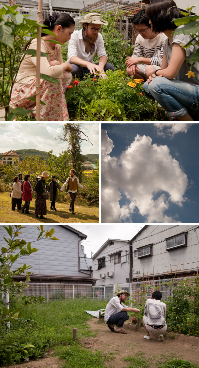 Images from our feel.nature.city workshops in Japan and Korea (images by SocieCity)