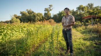 Kristyn Leach of Namu Farm in San Francisco - Film still from Final Straw: Food, Earth, Happiness