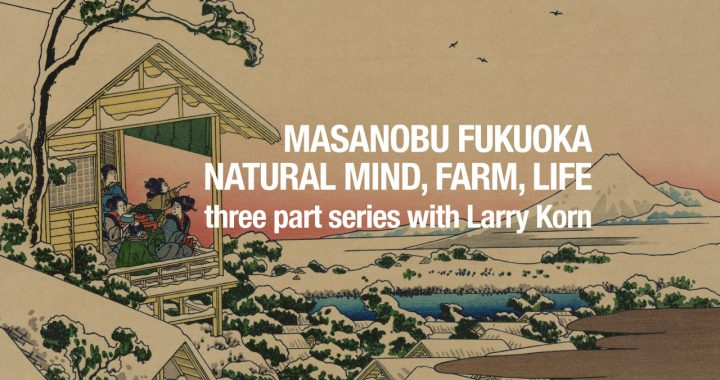 The Mind, Farm, and Life of Masanobu Fukuoka – Larry Korn Interview Series