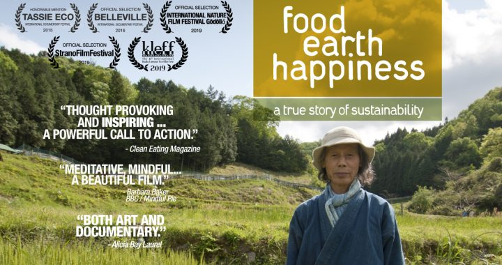"""Food, Earth, Happiness"" Television Broadcast in UK"